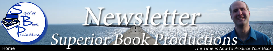 Superior Book Productions Newsletter